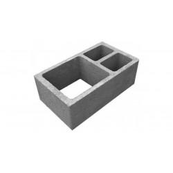 Вентеляционный керамзитобетоный блок 400х400х200 мм