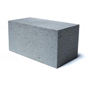 Стеновой полнотелый шлакоблок М-100 размером 100х200х400 мм