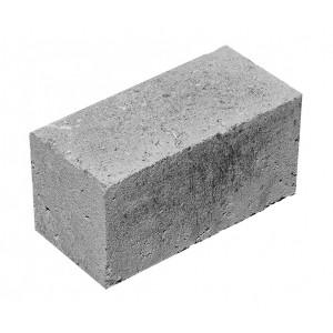Стеновой полнотелый керамзитобетоный блок 390х90х188 мм скц