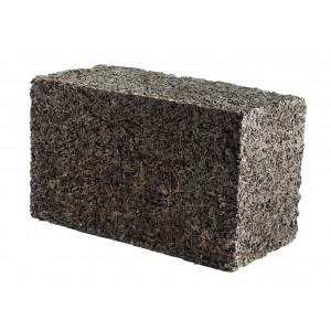 Стеновой полнотелый арболитовый блок 250х300х500 мм