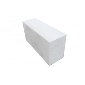 Перегородочный полнотелый пеноблок D500 размером 200х200х400 мм