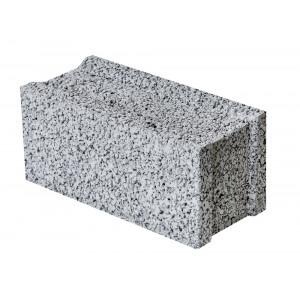 Стеновой полнотелый керамзитобетоный блок 300х200х400 мм пазогребневый