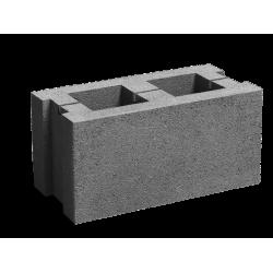 Стеновой пустотелый шлакоблок 200х300х600 мм