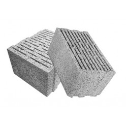 Перегородочный керамзитобетоный блок 300х200х400 мм