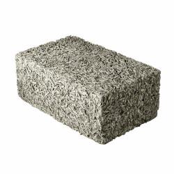 Стеновой арболитовый блок 500х250х400 мм