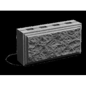 Облицовочный пустотелый шлакоблок М-100 размером 200х300х600 мм