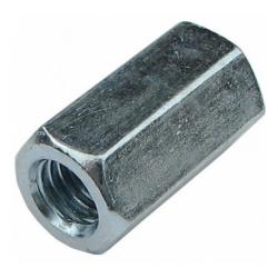 Гайка оцинкованная удлиненная М16 КРЕП-КОМП 20 шт.