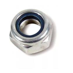 Гайка с нейлоновым кольцом самостопорящаяся шестигранная М5 Качественный крепеж 500 шт.