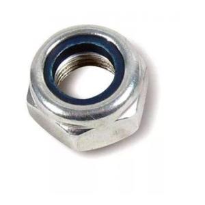 Гайка М5 с нейлоновым кольцом самостопорящаяся шестигранная Качественный крепеж DIN 985