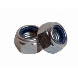 Гайка из нержавеющей стали с контрящим кольцом А2 М20 КРЕП-КОМП 50 шт.