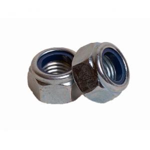 Гайка М20 из нержавеющей стали с контрящим кольцом А2 КРЕП-КОМП DIN 985