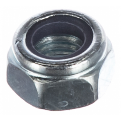 Гайка с нейлоновым кольцом самостопорящаяся М8 КТ 500 шт.