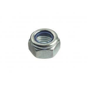 Гайка М12 оцинкованная шестигранная со стопорным кольцом Профикреп DIN 985
