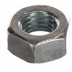 Гайка оцинкованная шестигранная ГОСТ 5927-70 М14 Зубр 5 кг