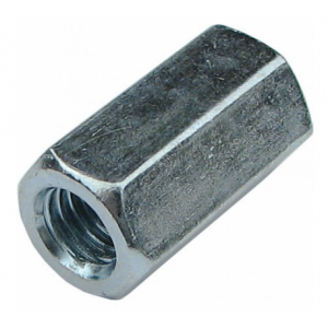 Гайка М8 оцинкованная удлиненная КРЕП-КОМП DIN 6334