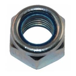 Гайка с нейлоновым кольцом самостопорящаяся М6 Метизный двор 100 шт.