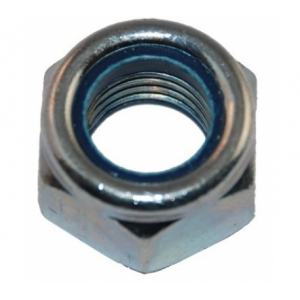 Гайка М6 с нейлоновым кольцом самостопорящаяся Метизный двор DIN 985