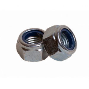 Гайка М12 с контрящим кольцом КРЕП-КОМП DIN 985