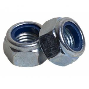 Гайка М6 с контрящим кольцом КРЕП-КОМП DIN 985