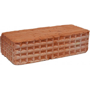 Карасевский керамический строительный полнотелый одинарный кирпич М-100