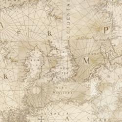 Клеевой пробковый пол в детскую Corkstyle Fantazy World Map