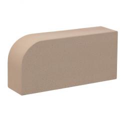 Керамический облицовочный полнотелый радиусный кирпич КС-Керамик гладкий